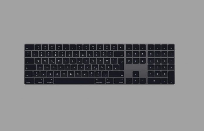 Apple Magic Keyboard with Numeric Keypad (Wireless, Rechargable) (US English) - Space Gray