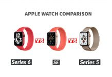 Apple Watch Comparision
