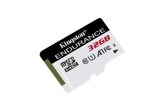 Kingston High Endurance 32GB MicroSD SDHC Flash Memory Card