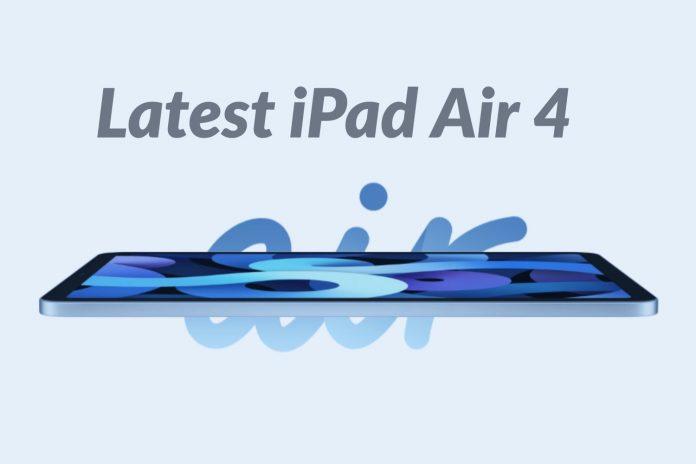 Latest iPad Air 4