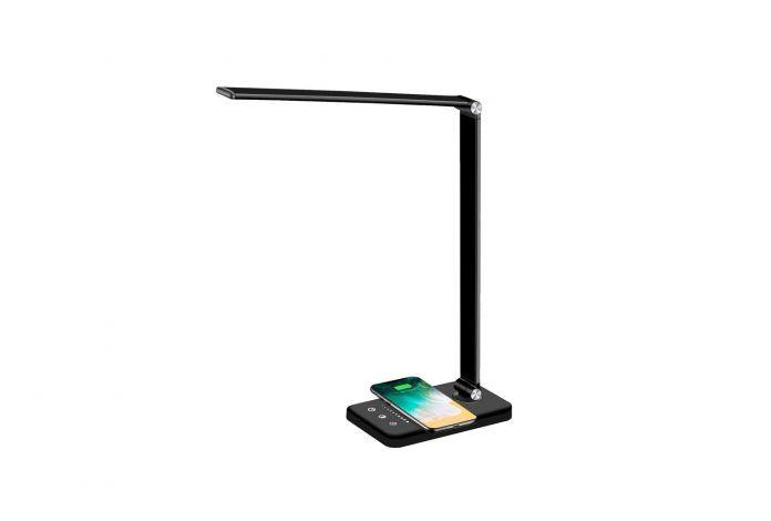 Multifunctional LED Desk Lamp with Wireless Charger