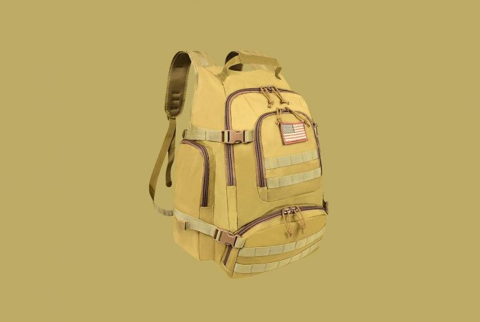 NOOLA Tactical Military Backpack Army 3 Day Assault Pack Large Rucksack Molle Bag