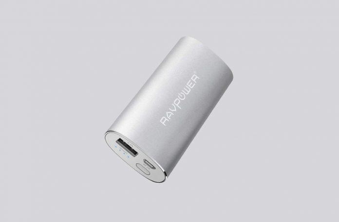 RAVPower 6700mAh (2.4A Output & 2A Input) External Battery Pack Power Bank