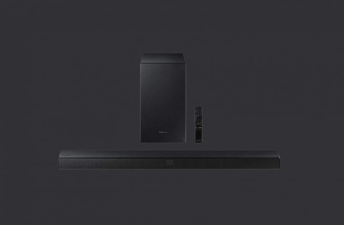 SAMSUNG HW-T550 2.1ch Soundbar with Dolby Audio : DTS Virtual