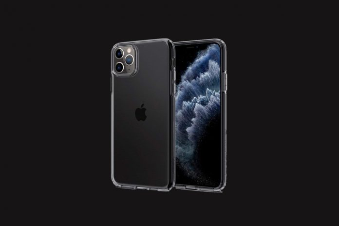 Spigen Liquid Crystal Designed for Apple iPhone 11 Pro Max Case (2019)