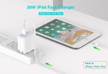Szpower 30W USB-C Charger w: 6.6ft USB-C Cable