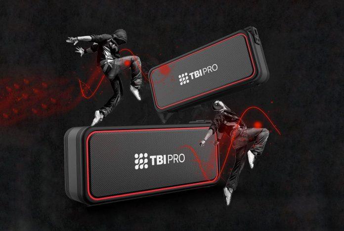 TBI Pro Bang X7 Powerful 20W Bluetooth Speakers-min