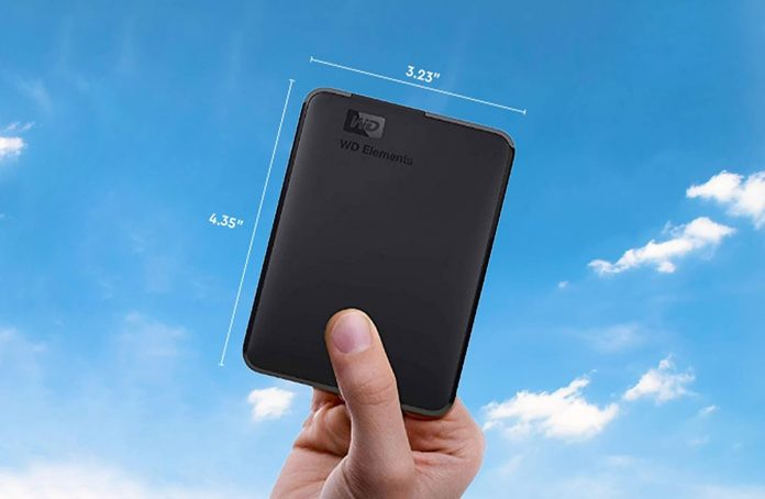 WD 5TB Elements Portable External Hard Drive