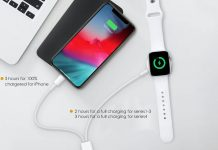 WORDIMA 2in1 Watch Charger
