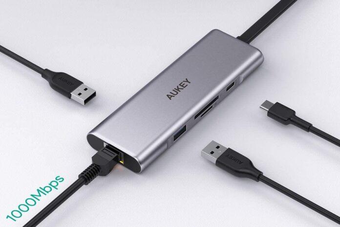 _AUKEY 9 in 2 USB C Hub -min