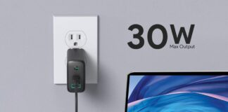 AUKEY Focus USB C Charger 30W and 12W 2-Port