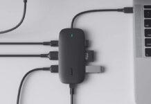 AUKEY USB C Hub