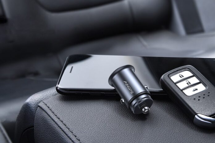 Ainope Metal Dual USB 4.8A Car Charger
