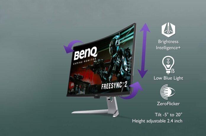 BenQ EX3203R Curved Gaming Monitor 31.5 inch WQHD