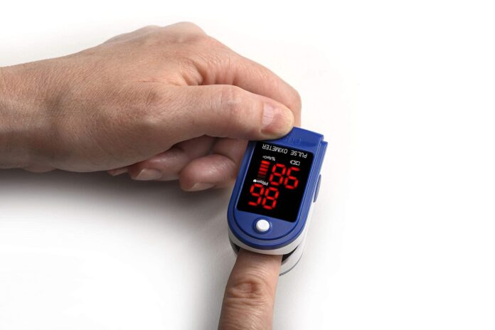 Contec Finger Tip Pulse Oximeter - Blood Oxygen Saturation (SpO2