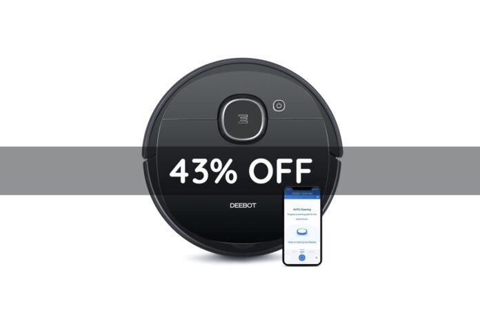 Ecovacs DEEBOT OZMO 920 2-in-1 Vacuuming and Mopping Robot