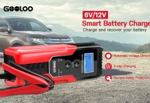 GOOLOO 6-Amp Full Automatic Smart Charger