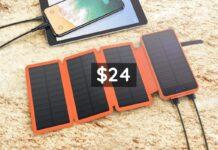 IEsafy Solar Charger 26800mAh-min