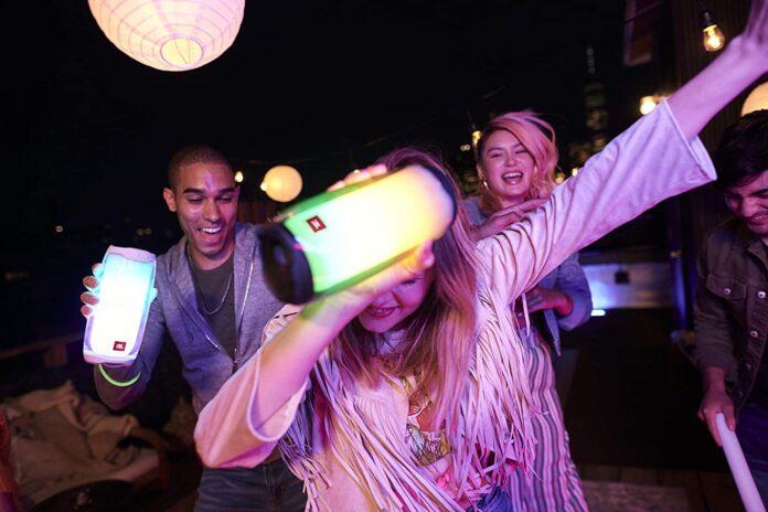 _JBL Pulse 4 - Waterproof Portable Bluetooth Speaker with Light Show-min