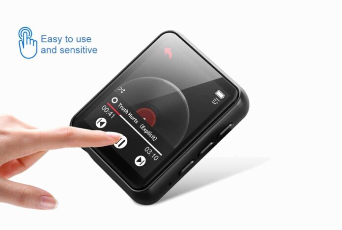 Jolike Bluetooth 5.0 Touch Screen MP3 Player