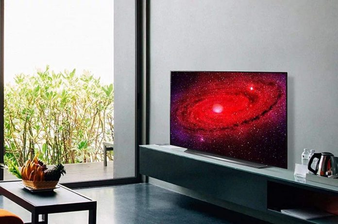 LG OLED77CXPUA Alexa Built-In CX 77 4K Smart OLED TV (2020)