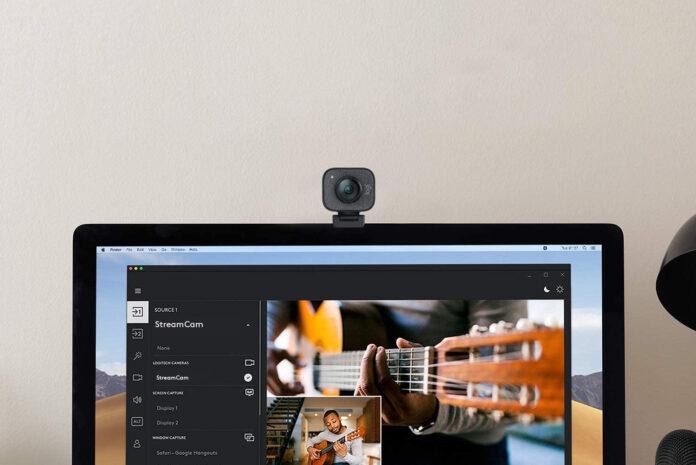 Logitech StreamCam, 1080P HD 60fps Streaming Webcam