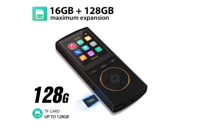 MP3 Player with Bluetooth 5.0 Supports