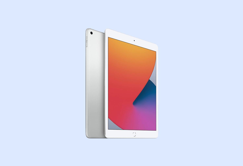 New Apple iPad (10.2-inch, Wi-Fi, 32GB) - Silver (Latest Model, 8th Generation)