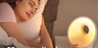 Philips SmartSleep (HF3650:60) Sleep & Wake-up Light Therapy Lamp