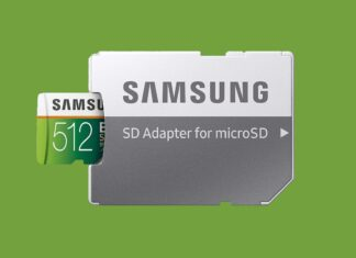 Samsung EVO Select 512 GB microSDXC card