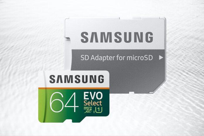 Samsung EVO Select 64 GB MicroSDXC Card-min