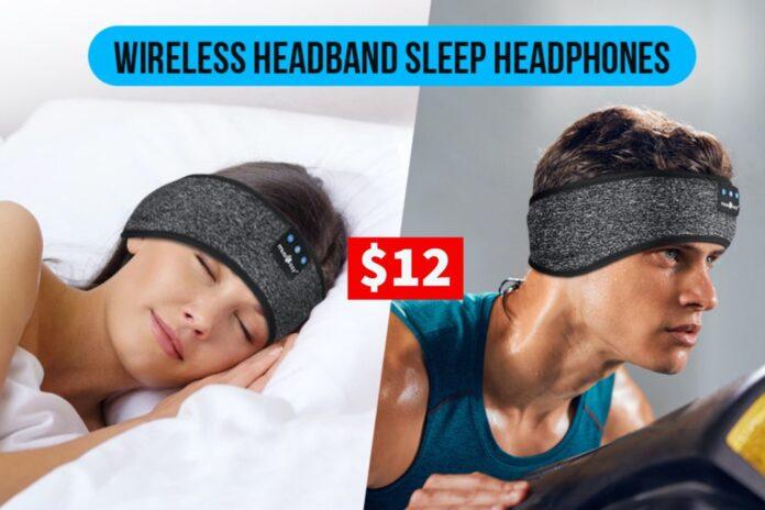 Sleep Headphones Bluetooth Sports Headband