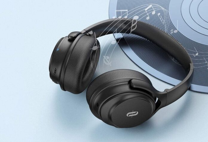 TaoTronics Bluetooth Headphones Over Ear Wireless Headphones