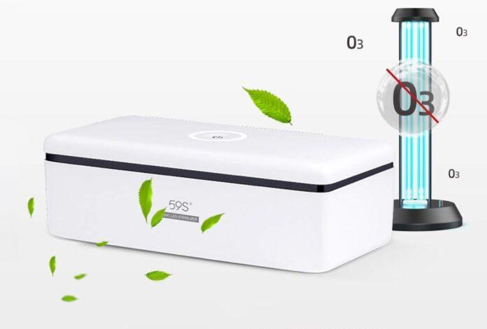 UV Light Sanitizer Box