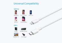 iPhone 12 Charger Cable, Anker USB C to Lightning Cable [6ft Apple MFi Certified]