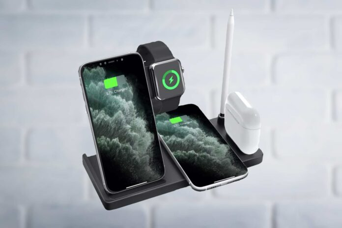 5 in 1 Wireless Charging Station