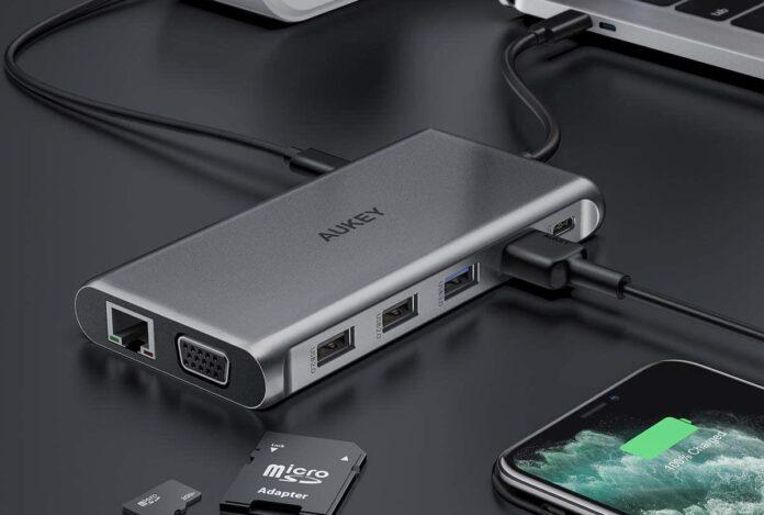 AUKEY USB C Hub 12-in-1