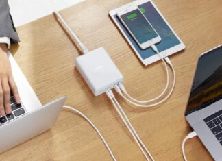 Anker 100W 4-Port Type-C Charging Station