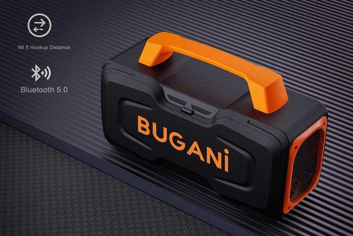 BUGANI M118 Portable Bluetooth Speakers