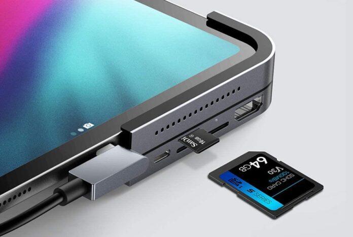 Baseus 6-in-1 Aluminum iPad Pro Dongle