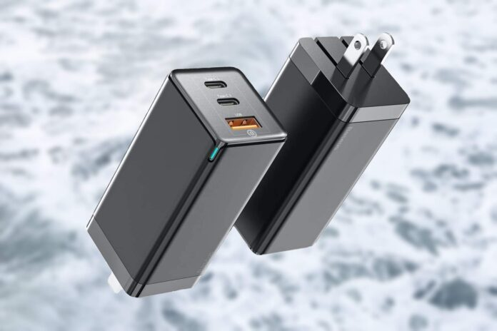 Baseus 65W 3 Port PD 3.0 [GaN Tech] Type C Fast Charger Adapter