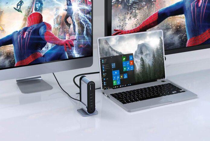 Baseus Dual Display Universal Laptop Docking Station