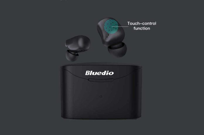 Bluedio T Elf 2 True Wireless Touch Headphones