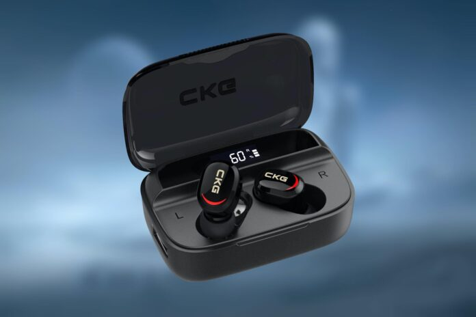 CKG Wireless Bluetooth Earbuds with Power Bank Charging Case