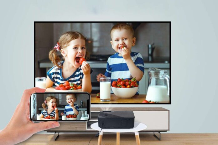 FANGOR Native 1080p Full HD Projector