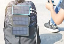Feelle 24000mAh Dual Port Solar Power Bank