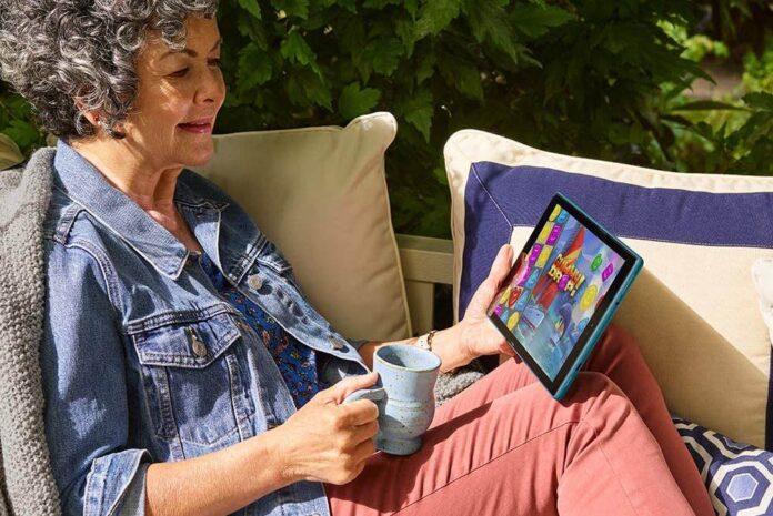 Fire HD 10 Tablet (10.1 1080p full HD display