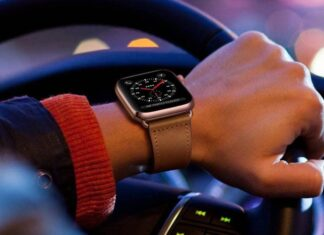 KYISGOS Apple Watch Leather Band