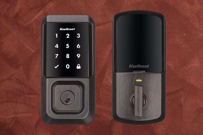 Kwikset 99390-002 Halo Wi-Fi Smart Lock Keyless Entry