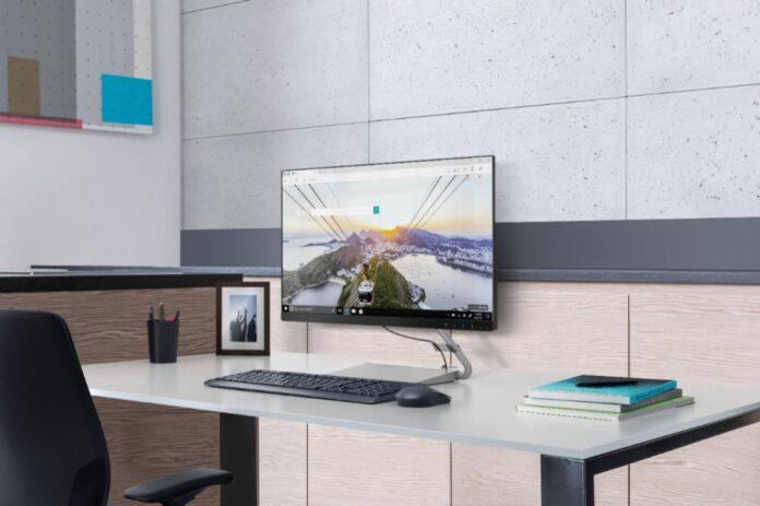 Lenovo - Q24i-10 24 IPS LED FHD FreeSync Monitor (HDMI, VGA